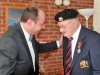 P1Ron Cornhill receiving the Legion d'Honneur from the French Consul Honoraire jean-Claude Lafontaine010231 (2)