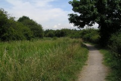 Various footpaths around Trowell