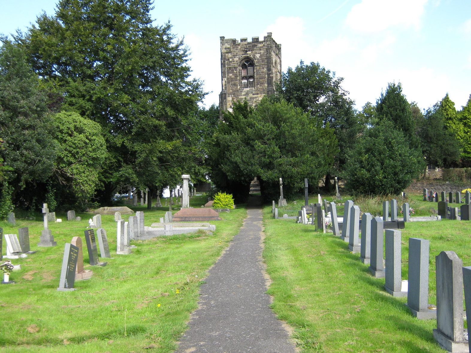 church-yard