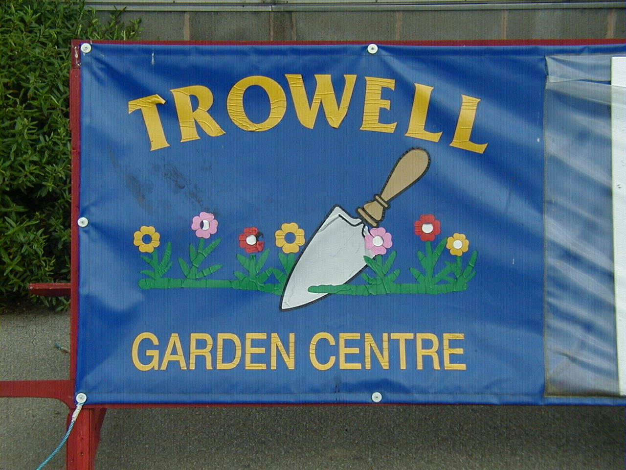 Trowell Garden Centre sign